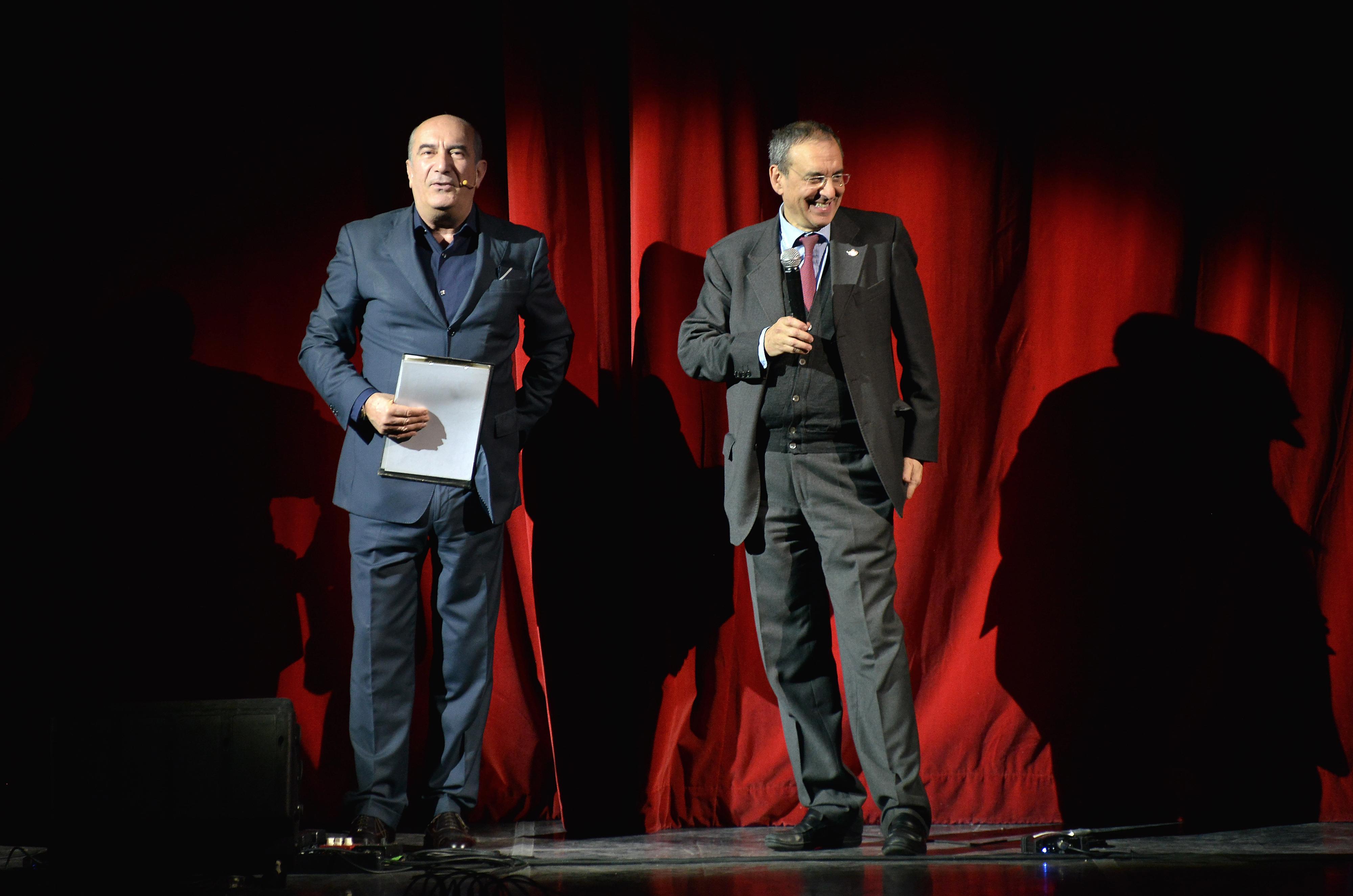 Francesco Fedele e Stefano De Sando