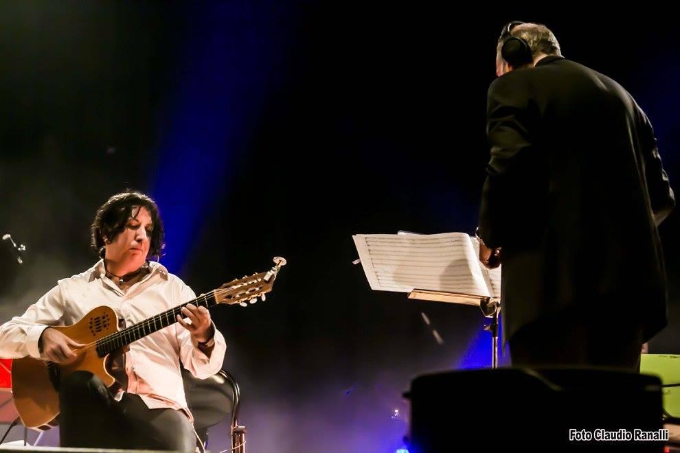 Gindomenico Anellino ed il Maestro Mario Zannini Quirini